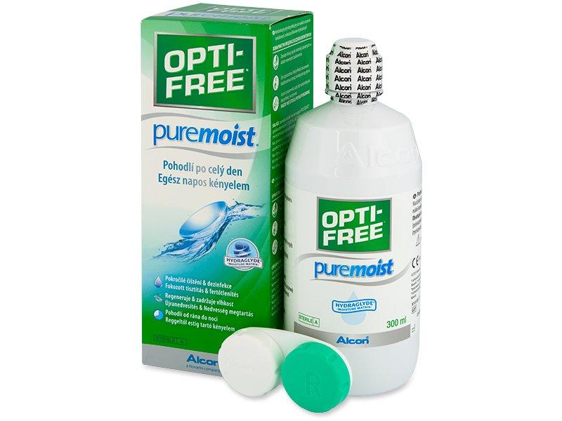 OPTI-FREE PureMoist linsvätska 300ml