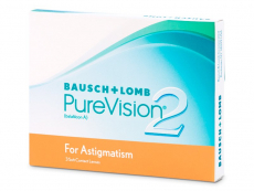 PureVision 2 for Astigmatism (3 linser)