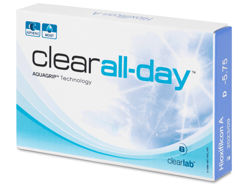 Clear All-Day (6 linser)