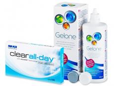 Clear All-Day (6linser) +Gelonelinsvätska 360ml