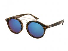 Alensa solglasögon Panto Havana Blå Spegel för barn