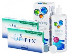 Air Optix for Astigmatism (2x3linser) + Gelonelinsvätska 360ml