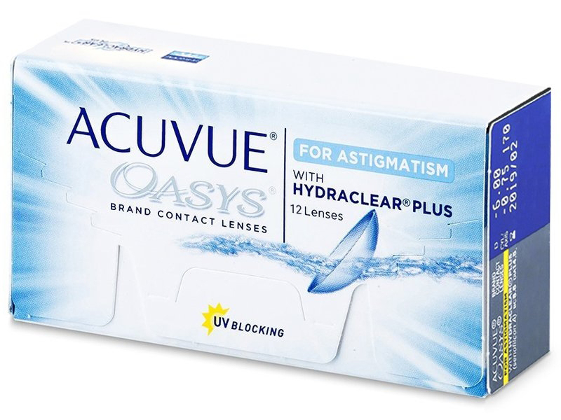 Acuvue Oasys for Astigmatism (12linser)