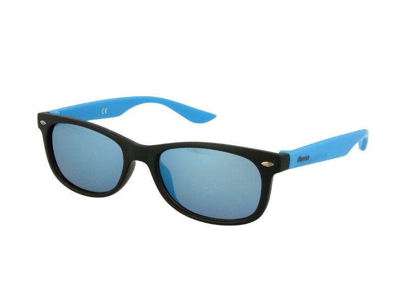 Alensa solglasögon Sport Svart Blå Spegel för barn