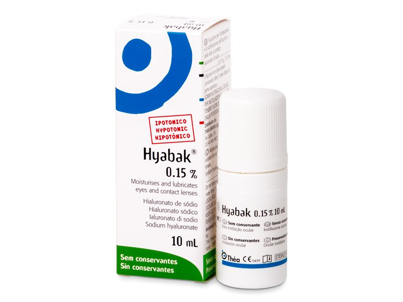 Hyabak Ögondroppar 10 ml