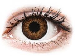 Bruna linser - naturlig effekt - med styrka - Air Optix (2linser)