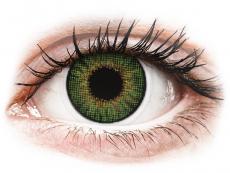 Gröna linser - natrulig effekt - med styrka - Air Optix (2linser)