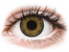 Bruna Pure Hazel linser - naturlig effekt - med styrka - Air Optix (2linser)