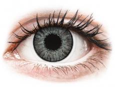 Gråa Sterling linser - naturlig effekt - med styrka - Air Optix (2linser)