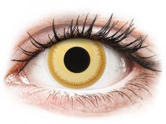 Gula Avatar kontaktlinser - ColourVUE Crazy (2 linser)