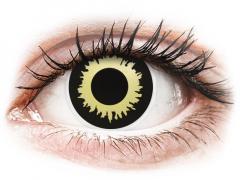 Gula Eclipse kontaktlinser - ColourVUE Crazy (2 linser)