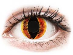 Orange Saurons Eye linser - ColourVUE Crazy (2 linser)