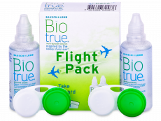 Biotrue Flight Pack linsvätska 2 x 60 ml