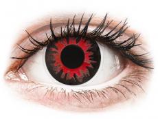Röda Volturi kontaktlinser - ColourVUE Crazy (2 linser)