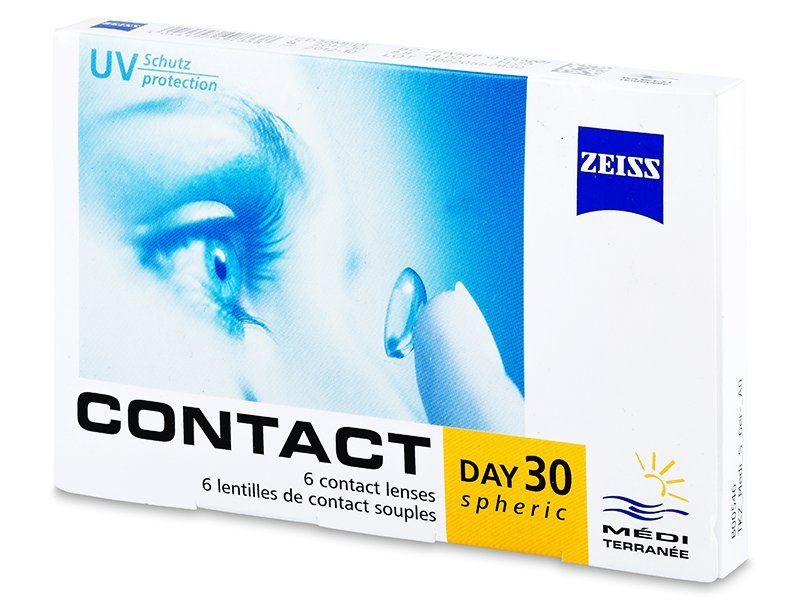 Carl Zeiss Contact Day 30 Spheric (6linser)