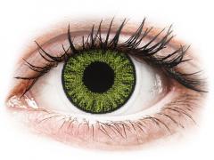 Fresh Gröna linser - med styrka - TopVue Color (10linser)