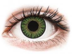 Gröna kontaktlinser - med styrka - TopVue Color (10linser)