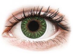 Gröna kontaktlinser - med styrka - TopVue Color (2linser)