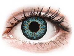 Aqua Glamour linser - med styrka - ColourVUE (2linser)