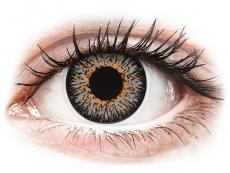 Gråa Glamour kontaktlinser - med styrka - ColourVUE (2linser)