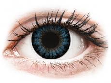 Cool Blåa linser - med styrka - ColourVUE BigEyes (2linser)