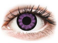 Lila BigEyes kontaktlinser - ColourVUE (2linser)