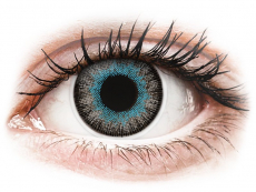 Blå Gråa Fusion kontaktlinser - ColourVUE (2linser)