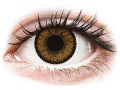 Bruna India linser - SofLens Natural Colors - med styrka (2 linser)