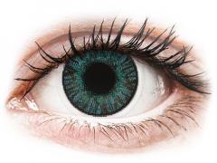 Blåa Brilliant linser - FreshLook ColorBlends - Med styrka (2 linser)