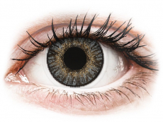 Gråa kontaktlinser - FreshLook ColorBlends - Med styrka (2 linser)