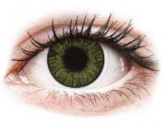Gröna kontaktlinser - FreshLook ColorBlends - Med styrka (2 linser)
