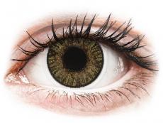 Bruna Hazel linser - FreshLook ColorBlends - Med styrka (2 linser)