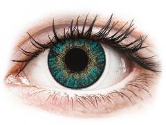 Turkosa kontaktlinser - FreshLook ColorBlends (2 linser)