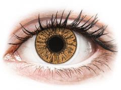 Bruna Hazel kontaktlinser - FreshLook Colors - Med styrka (2 linser)