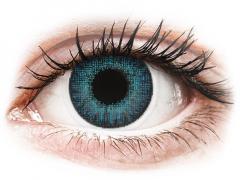 Blåa Brilliant linser - naturlig effekt - Air Optix (2linser)