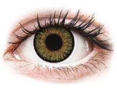 Bruna Pure Hazel linser - FreshLook One Day Color - Med styrka (10 linser)