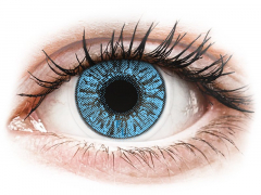 Blåa Sapphire linser - FreshLook Colors (2 linser)
