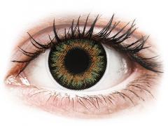 Gröna One Day TruBlends linser - med styrka - ColourVue (10 linser)