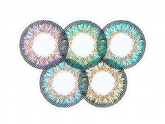 Regnbåge 2 One Day TruBlends linser - ColourVue (10 linser)