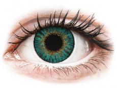 Air Optix Colors - Turquoise - med styrka (2linser)
