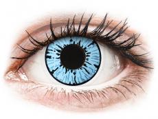 ColourVUE Crazy Lens - Blizzard - utan styrka (2linser)