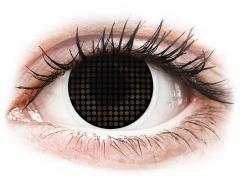 ColourVUE Crazy Lens - Black Screen - utan styrka (2linser)