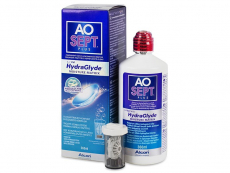 AO SEPT PLUS HydraGlyde Linsvätska 360 ml