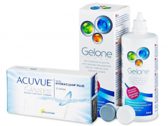 Acuvue Oasys (12 linser) + Gelone linsvätska 360 ml