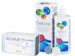 Acuvue Oasys (24 linser) + Gelone linsvätska 360 ml