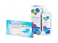 Acuvue Oasys for Presbyopia (6 linser) + Gelone linsvätska 360 ml