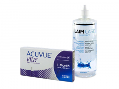 Acuvue Vita (6 linser) + Laim-Care linsvätska 400 ml
