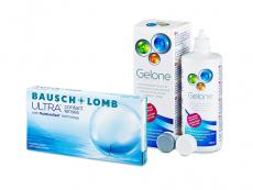 Bausch + Lomb ULTRA (6 linser) + Gelone linsvätska 360 ml
