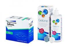 SofLens 38 (6 linser) + Gelone linsvätska 360 ml