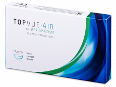 TopVue Air for Astigmatism (3 linser)